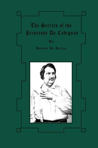 9781480227583: The Secrets of the Princesse De Cadignan