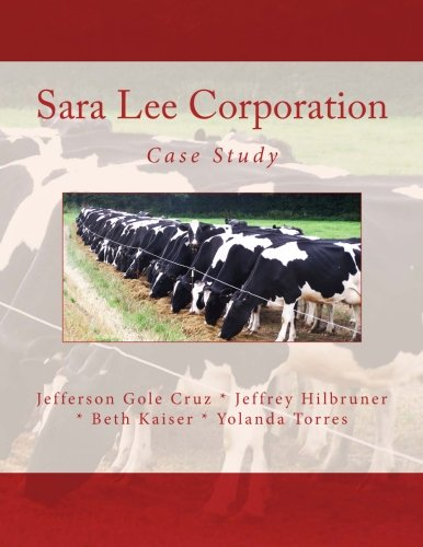 9781480239548: Sara Lee Corporation: Case Study