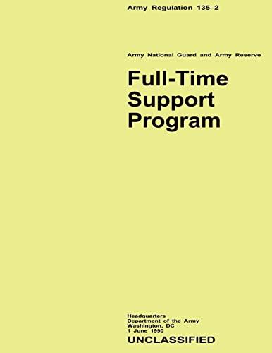 9781480270350: Full-Time Support Program (Army Regulation 135-2)