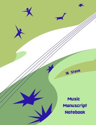 9781480271708: Music Manuscript Notebook: 10 Stave