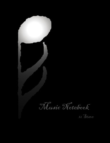 9781480273092: Music Notebook: 12 Stave