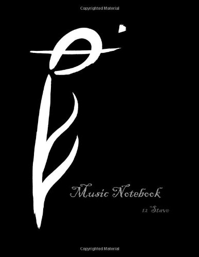 9781480276529: Music Notebook: 12 Stave