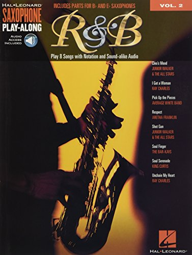 9781480300019: R&B: Saxophone Play-Along Volume 2 Includes Parts for Bb & Eb Saxophones