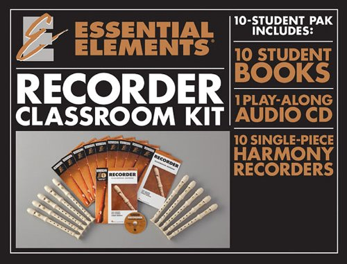 ESSENTIAL ELEMENTS FOR RECORDER CLASSROOM KIT BK/CD/RECORDER