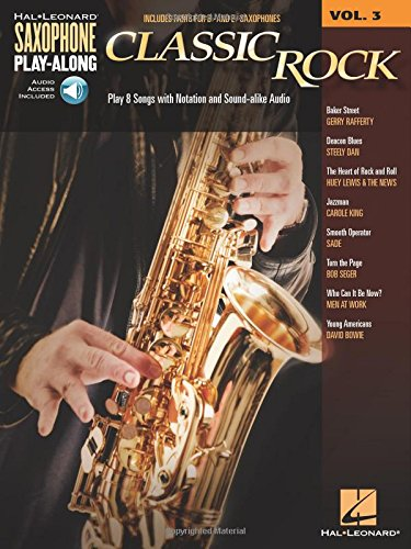9781480302259: Classic Rock: Saxophone Play-Along Volume 3
