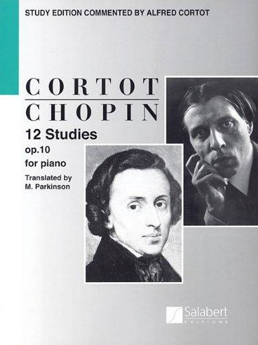9781480304567: 12 Studies Op10 Piano Etudes (English Text)