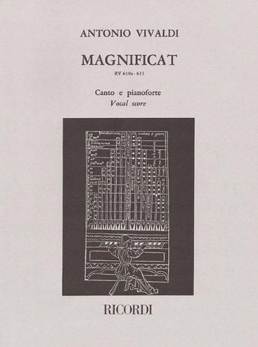 MAGNIFICAT RV610A/611 VOCAL SCORE ENGLISH & LATIN