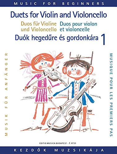 Duos fur Violine und Violoncello fur Abfanger / Duets for Violin and Violoncello for Beginners...