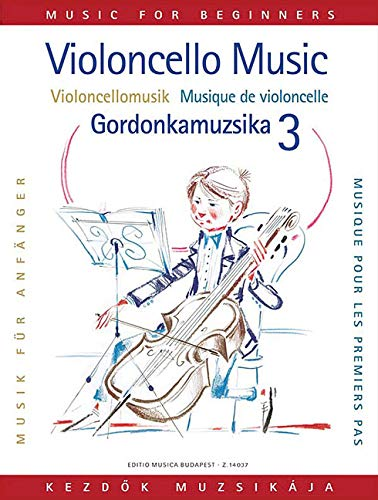 9781480304987: Violoncellomusik Fur Anfanger =: Violoncello Music for Beginners = Gordonkamuzsika Kezdok Szamara