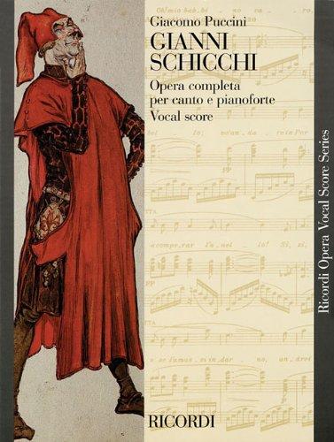 Gianni Schicchi: Puccini, Giacomo (cop)