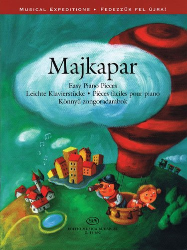Majkapar (Maykapar): Easy Piano Pieces - compiled by Lakos Ágnes