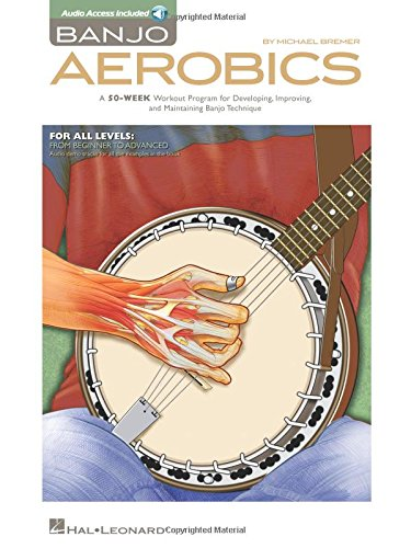 9781480305410: Banjo Aerobics: A 50-Week Workout Program for Developing, Improving, and Maintaining Banjo Technique + CD