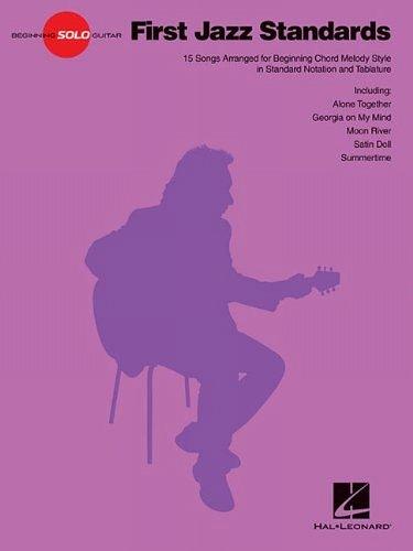 9781480312838: First Jazz Standards (Beginning Solo Guitar)