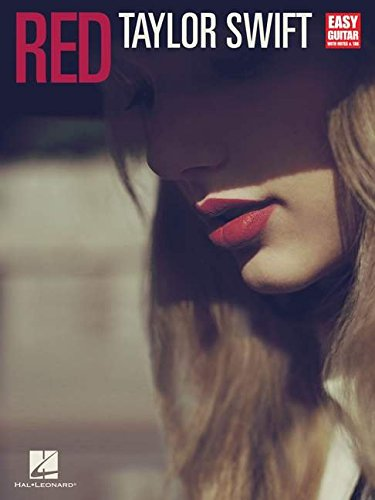9781480321403: Taylor Swift - Red (Easy Guitar with Tab)