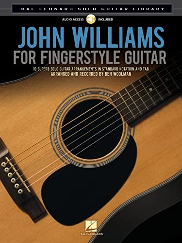 9781480321700: John Williams for Fingerstyle Guitar: Hal Leonard Solo Guitar Library (Book/CD)