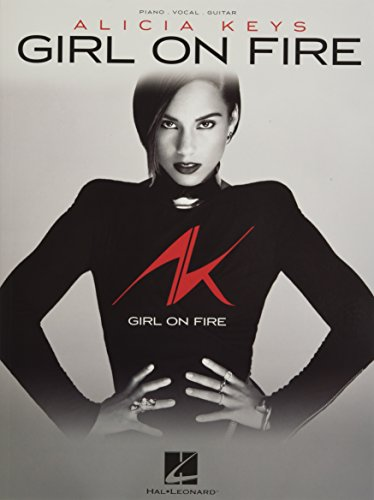 9781480324183: Alicia Keys - Girl on Fire (Piano/Vocal/Guitar)