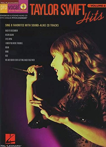 Pro Vocal Women's Edition Volume 61: Taylor Swift: Taylor Swift