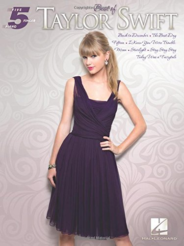 9781480324428: Best of Taylor Swift (Five-Finger Piano)