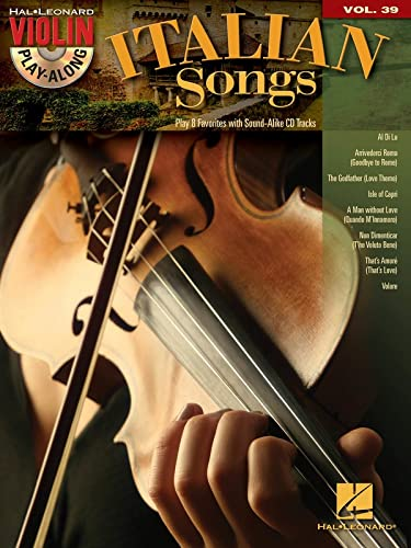 Italian Songs: Violin Play-Along Volume 39 (Book/CD): Hal Leonard