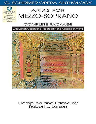 Arias for Mezzo-Soprano [With 4 CDs] (Paperback)