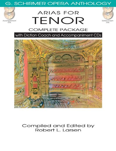 9781480328518: Arias for Tenor Complete Package: With Diction Coach and Accompaniment CDs