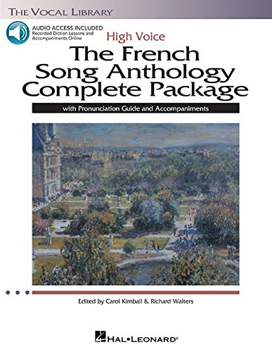 The French Song Anthology Complete Package