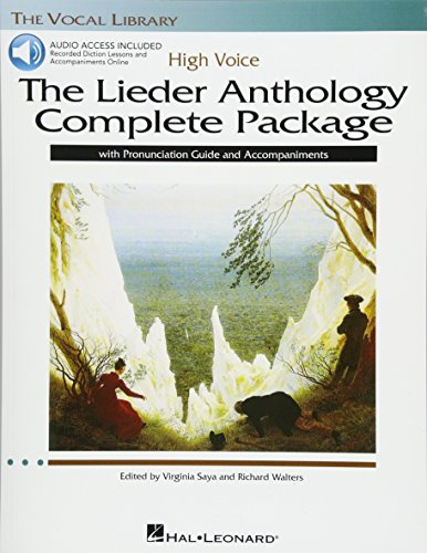 The Lieder Anthology Complete Package - High Voice: Book/Pronunciation Guide/...