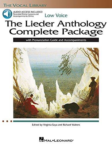Lieder Anthology LowVoice (w/CDs): Walters