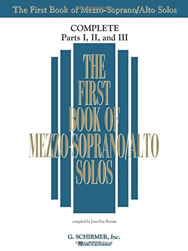9781480333222: The First Book of Solos Complete - Parts I, II and III: Mezzo-Soprano/Alto
