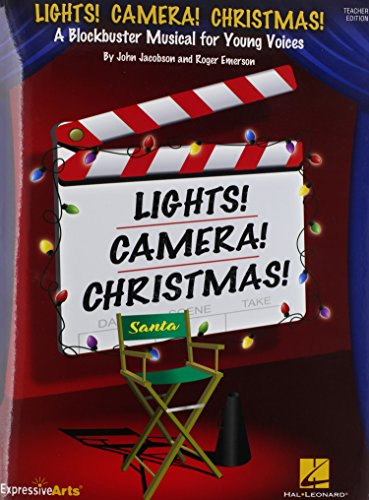 9781480333857: Lights! Camera! Christmas!: A Blockbuster Musical for Young Voices