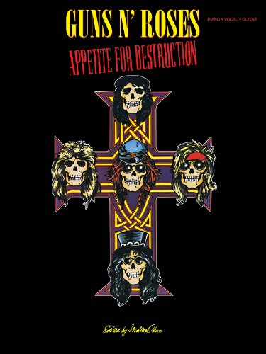 9781480333918: Guns 'n' Roses Appetite For Destruction (Piano/Vocal/Guitar)