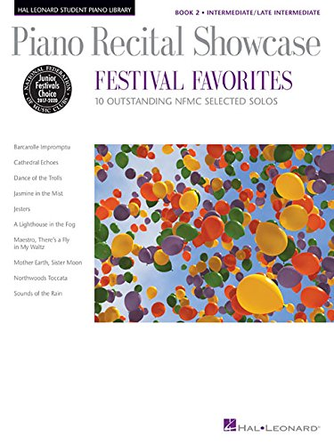 9781480337787: Piano Recital Showcase - Festival Favorites, Book 2: 10 Outstanding NFMC Selected Solos (Hal Leonard Student Piano Library Songbooks)