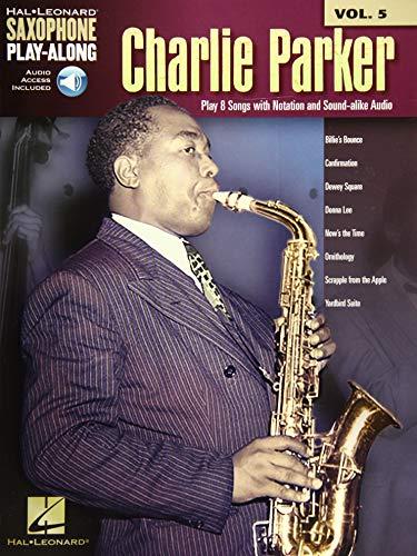 9781480337947: Charlie Parker: Saxophone Play-Along Volume 5