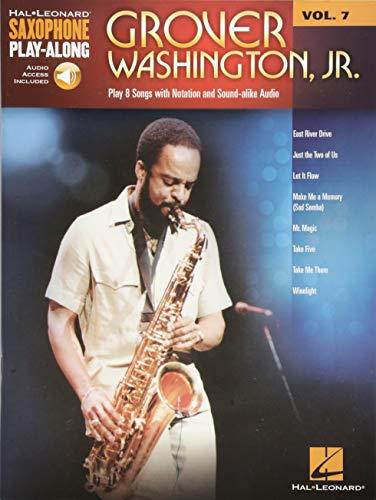 9781480338005: Grover Washington, Jr.: Saxophone Play-Along Volume 7 (Hal Leonard Saxophone Play-Along)