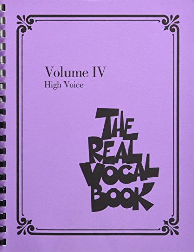 9781480338104: The Real Vocal Book - Volume IV: High Voice: 4