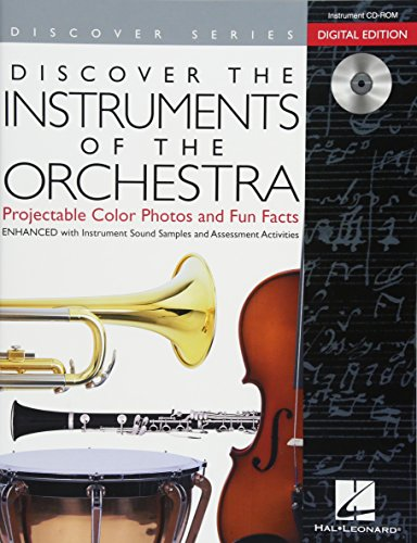 9781480338340: Discover the Instruments of the Orchestra: Digital Version (CD-ROM and DVD)