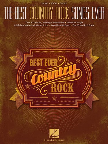 9781480340688: The Best Country Rock Songs Ever (Best Ever)