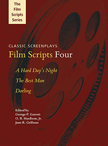 9781480342064: Film Scripts Four: A Hard Day's Night, the Best Man, Darling (Applause Books)