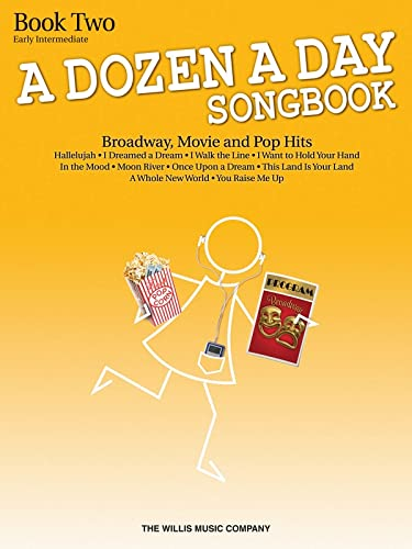 9781480342101: A Dozen A Day Songbook - Book 2 (Book Only)
