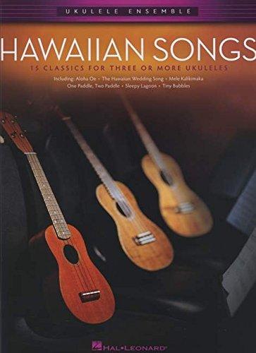 9781480342200: Ukulele Ensemble: Hawaiian Songs