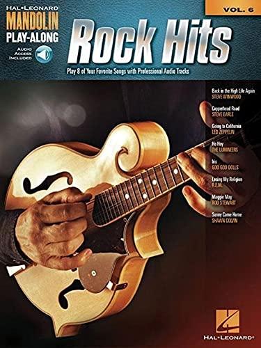 9781480342842: Rock Hits: Mandolin Play-Along Volume 6