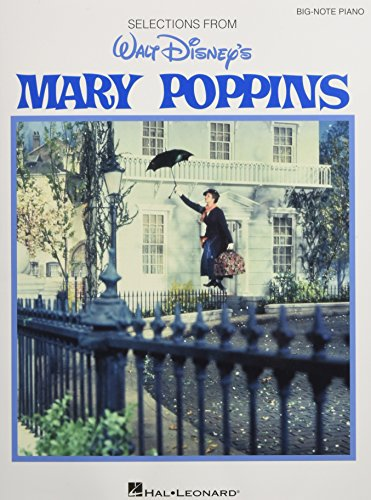 9781480342903: Mary Poppins-Big Note Piano Selections (Big Note Vocal Selections)