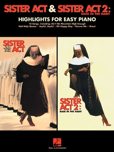 9781480343115: Sister ACT & Sister ACT 2: Back in the Habit: Highlights for Easy Piano
