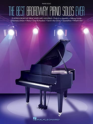 9781480344280: The Best Broadway Piano Solos Ever (Best Broadway Songs Ever)