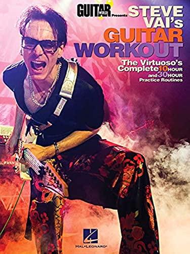 9781480344402: Guitar World Presents: Steve Vai's Guitar Workout: Steve Vai's Guitar Workout [Lingua inglese]