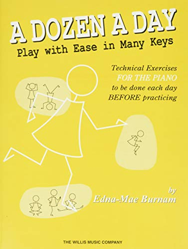 9781480345096: A Dozen a Day - Play with Ease in Many Keys