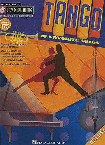 Tango: Jazz Play-Along Volume 175 (Book/CD)