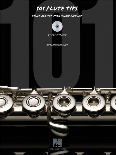 9781480345430: 101 Flute Tips: Stuff All the Pros Know and Use (Book/CD)