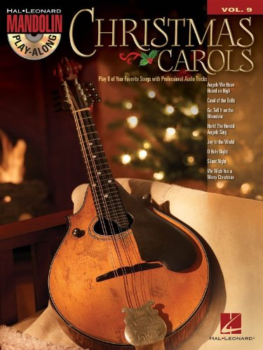 9781480345492: Christmas Carols: Mandolin Play-Along Volume 9 (Book/CD) (Hal Leonard Mandolin Play-Along)