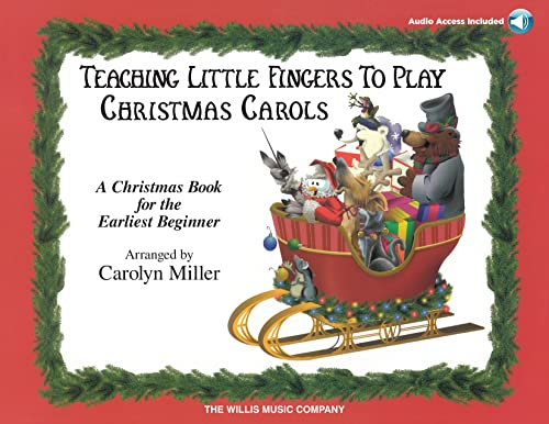 9781480350588: TEACHING LITTLE FINGERS TO PLAY CHRISTMAS CAROLS EARLIEST BEGINNER BOOK AND CD